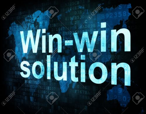 14442157-Business-concept-pixelated-words-Win-win-solution-on-digital-screen-3d-render-Stock-Photo